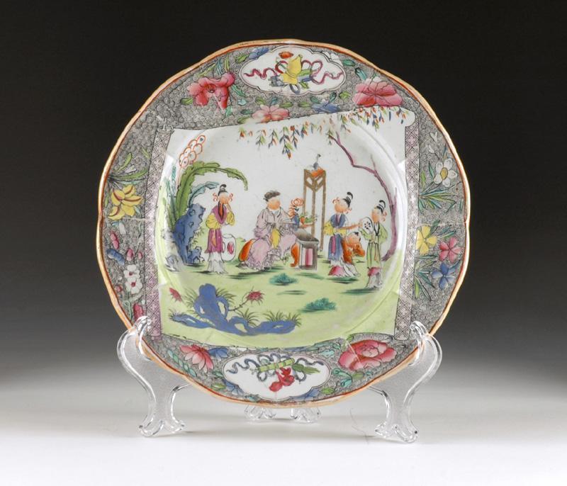 Mason's Patent Ironstone Mandarin Patterned Plate, 1813-25