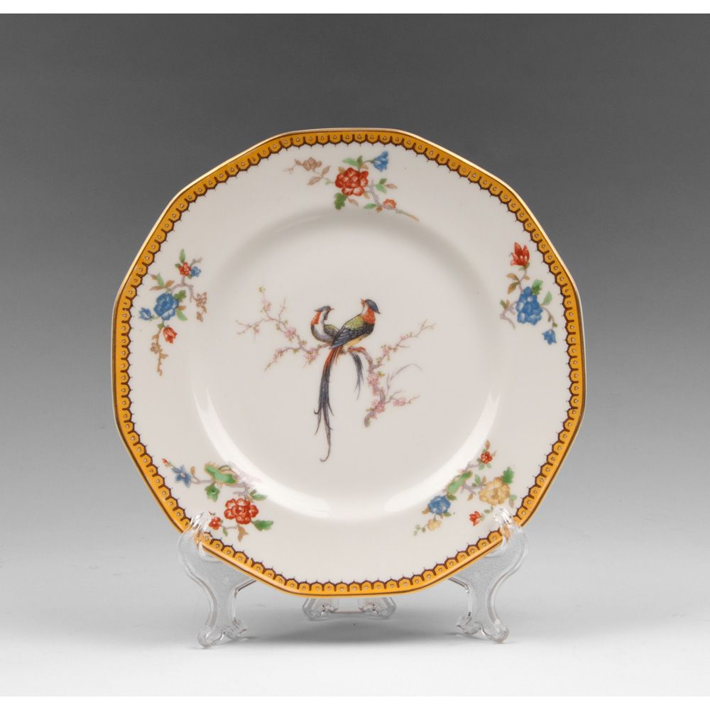 Theodore Haviland Limoges Luncheon Plate, Eden From