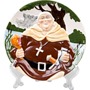 Davenport Pottery Co., Ltd. Toby Plate, Friar Tuck