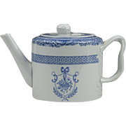 Copeland Spode New Stone Fitzhugh Pattern Teapot
