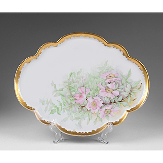 Vintage Hand Painted Porcelain Tray