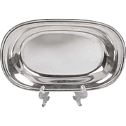 Sterling Silver Vegetable Tray, International Silver, Lord Saybrook