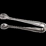 Pair of Gorham Newcastle Sterling Silver Sugar Tongs