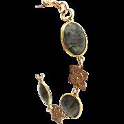 Designs by Ali Brass and Labradorite Bracelet