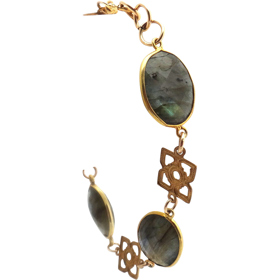 Designs by Ali Brass and Labradorite Bracelet