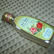 WONDERFUL 'Jack Rose' vintage perfume bottle
