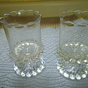 Vintage Spooners, Candlewick Glass