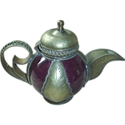 Antique Russian individual coffee/teapot