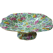 Royal Winton 'Cranstone' chintz  tazza/comport