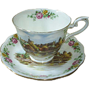 Royal Albert 'Land of Hope and Glory' cup and saucer, roses & more!