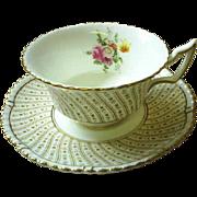Cauldon England cup & saucer, Elegant!