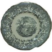 "19th C. Transferware, ""British Lakes"""