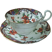 Dramatic Aynsley China, England cup & saucer