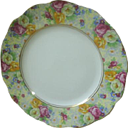 Royal Albert 'Rosetime' chintz dessert/luncheon plate