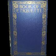 Book of Etiquette, 1923