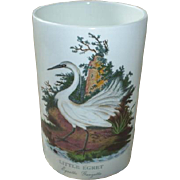 Portmeirion Canister, 1978, Birds of Britain beauty!
