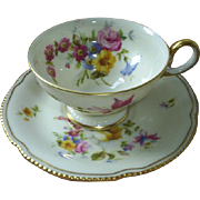 Castleton China cup & saucer, USA!