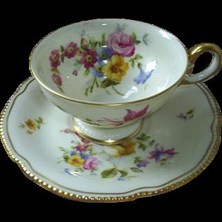 Castleton China cup & saucer, USA!
