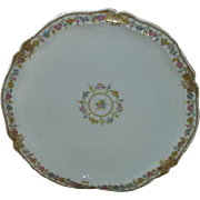 Vintage Limoges Plate, roses