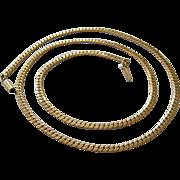 Krementz Gold Filled Necklace Plunger Clasp Signed