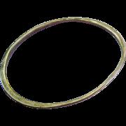 Sterling Silver 925 Bangle Bracelet Interesting Design