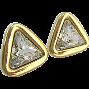 Swarovski SAL Clear Crystal Post Earrings