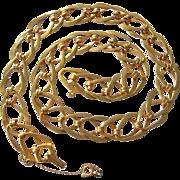 Metropolitan Museum of Art MMA Interlocking Links Necklace