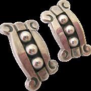 Sterling Silver 925  Jose Luis Flores JLF Earrings