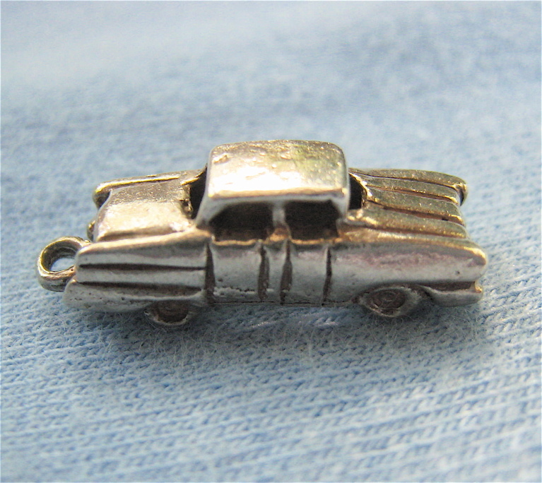 Sterling Silver 925 Vintage Car Charm From Susabellas On
