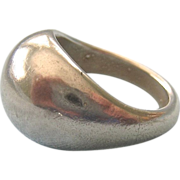 Sterling Silver 925 Domed Ring Unisex