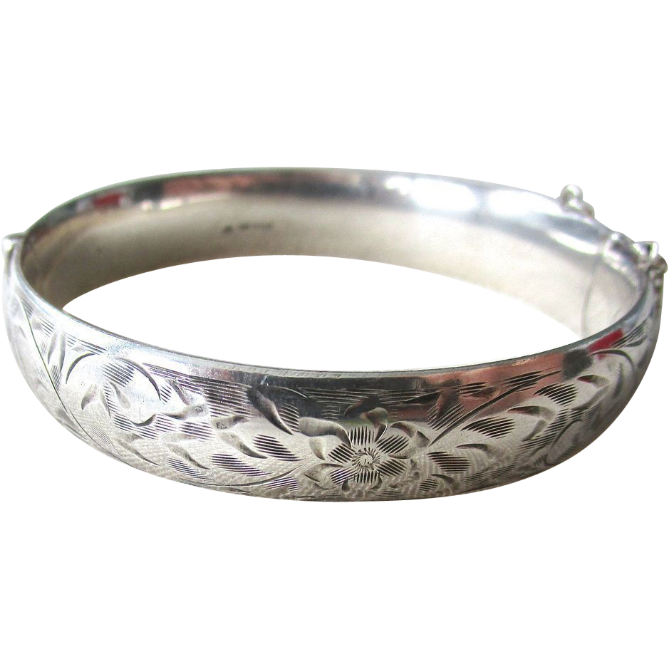 sterling bangle bracelets bangles silver large bracelet anchor