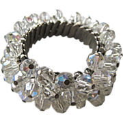 Cha Cha Expansion Bracelet Clear AB Crystals