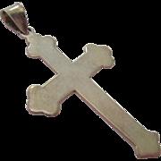 Sterling Silver 925 Cross Pendant