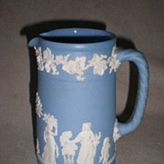 Beautiful Wedgwood Blue Jasperware Pitcher