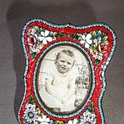 Fabulous Micro Mosaic PIcture Frame