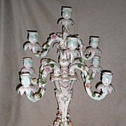 Monumental Huge Dresden Nine Light Candelabra