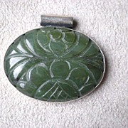Fabulous Carved Jade Pendant