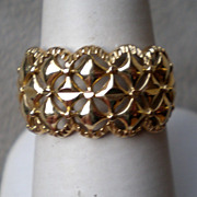 "Awesome 14k Yellow Gold ""Star"" Ring"