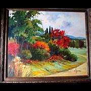 Original Landscape Oil Painting - Eva Szorc
