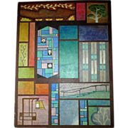 "Original California Modernist Painting - ""Pauline Pierson (1890-1956)"""