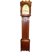 "Great Antique ""L Watson, Cincinnati"" Grandfather Clock"