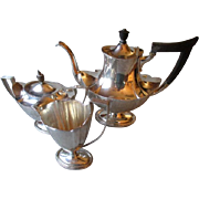 Gorgeous Three Piece Gorham Sterling Silver Tea Set