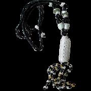 Beautiful Pierced Jade Pendant Necklace