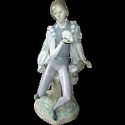 Large Lladro Figurine - Hamlet