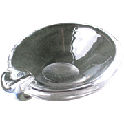 Beautiful Steuben Sloped Bowl Ashtray