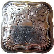 Fabulous Early Dutch Silver Pill Box
