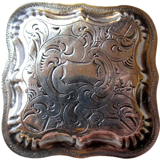 Fabulous Early Dutch Silver Pill Box