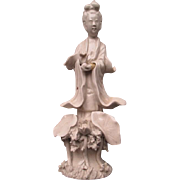 "Beautiful Early ""China"" Porcelain ""Quan Yin"" Figurine"