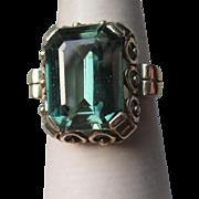 Stunning 14k Gold and Tourmaline Ring