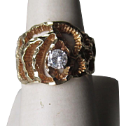 14k Gold and 0.25ct Diamond Ring